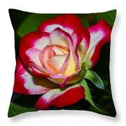 Rose 8 Throw Pillow