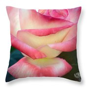 Rose Among The Thorns Throw Pillow