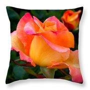 Rose Beauty Throw Pillow