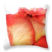 Rose Bud 1 Throw Pillow