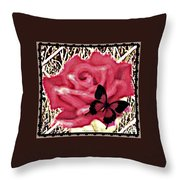 Rose By Any Other Name Throw Pillow