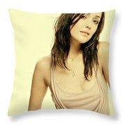 Rose Byrne Throw Pillow