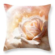 Rose - Colors Of The Moon Throw Pillow