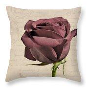 Rose En Variation - S02c3t3a Throw Pillow