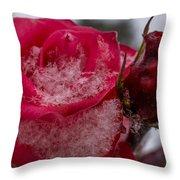 Rose Flakes 1 Throw Pillow