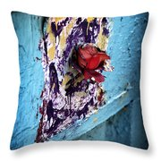 Rose For The Dead Throw Pillow by John Rizzuto