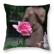 Rose Garden 2 Throw Pillow
