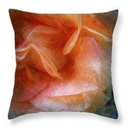 Rose Glows Throw Pillow