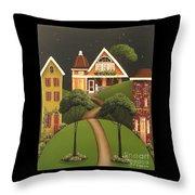 Rose Hill Lane Throw Pillow