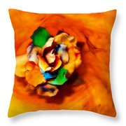 Rose In A Dream Throw Pillow