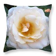 Rose In The Garden Throw Pillow
