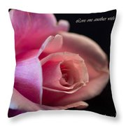 Rose-love Throw Pillow