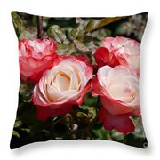 Rose Nostalgia  Throw Pillow
