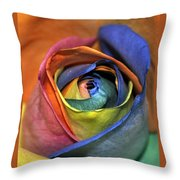 Rose Of Equality Throw Pillow
