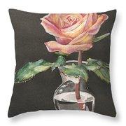 Rose Of Hope Throw Pillow