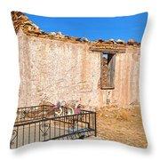 Rose Of Lima Chapel Throw Pillow