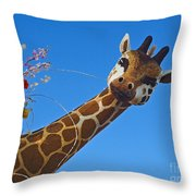 Rose Parade  Throw Pillow