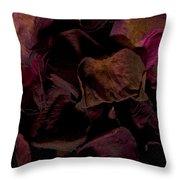 Rose Petals #4 Throw Pillow