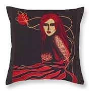 Unravel Throw Pillow