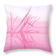 Rose Tinted Glasses Throw Pillow
