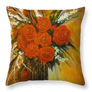 Rose Whispers... Throw Pillow