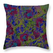 Roses By Jrr Throw Pillow