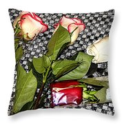 Roses From Rosa... Throw Pillow