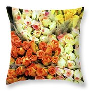 Roses 01 Throw Pillow