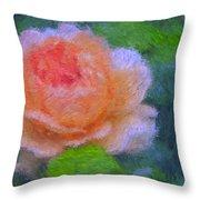 Roses Splendor Throw Pillow