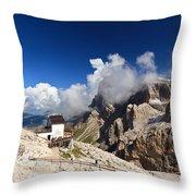 Rosetta Mount Throw Pillow