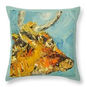 Rosie Bell, Cow Throw Pillow