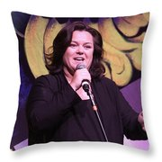 Rosie O'donnell Throw Pillow