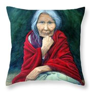 Rosie Remembered Throw Pillow