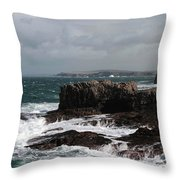 Ross Bay Throw Pillow by Peter Skelton