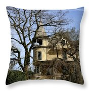 Ross Island House Throw Pillow