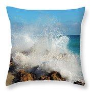 Ross Witham Beach 2 Throw Pillow