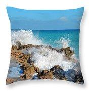 Ross Witham Beach 3 Throw Pillow