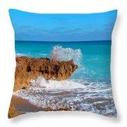 Ross Witham Beach 5 Throw Pillow