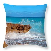 Ross Witham Beach 6 Throw Pillow