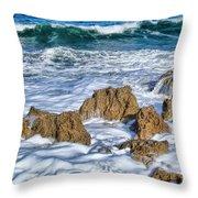 Ross Witham Beach Stuart Florida Throw Pillow