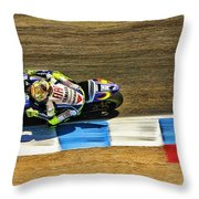 Rossi From Above Throw Pillow