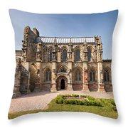 Rosslyn Chapel 01 Throw Pillow by Antony McAulay