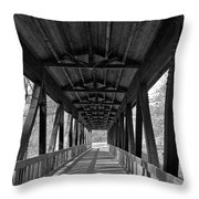 Roswell Bridge 1 Throw Pillow