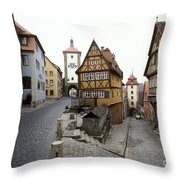 Rothenberg, Germany Throw Pillow