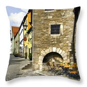 Rothenberger Cafe Throw Pillow