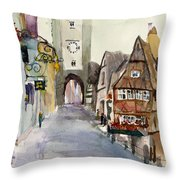 Rothenburg Throw Pillow