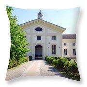 Rotonda Della Besana Building Throw Pillow