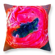 Rotten Tommy's Smile Throw Pillow