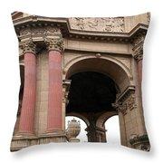 Rotunda Palace Of Fine Art - San Francisco Throw Pillow