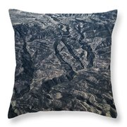 Rough Country Throw Pillow